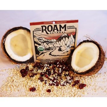 Roam Oatmeal - Coconut Cranberry Packable Instant Oatmeal