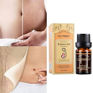 Hunputa 10ml Stretch Marks & Scar Removal Essential Oil for Pregnancy, Remove Wrinkles, Repair Scar Slack Line Abdomen