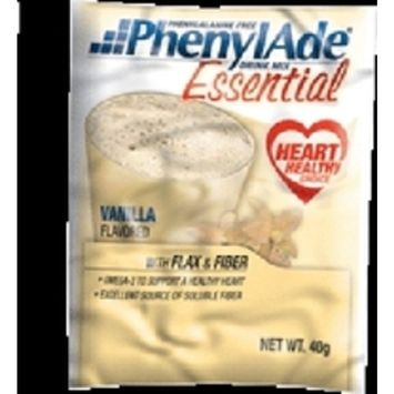 PKU Formula Drink Mix PhenylAde Essential Vanilla 40 gm Pouch-1 Each