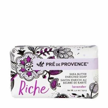 European Soaps 150 Grams Soap Bar - Wrapped Riche - Lavender