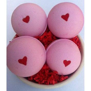 Romance Bath Bomb 4-pack by Blissful Bath