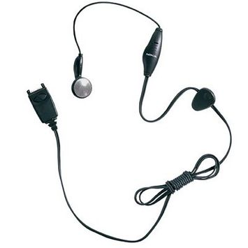 OEM Nokia Mobile Headset w/ On/Off Switch for Nokia 6360,3285,6340,5190 - Black