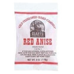 Claey's Candy Claeys Anise Hard Candy - Peg Bag(Case of 24)