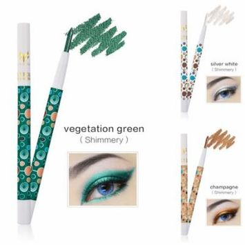 iLH Mallroom 3 Colors Beauty Pro Highlighter Eyeshadow Pencil Cosmetic Glitter Eye Shadow Pen