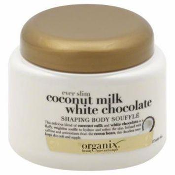 OGX® Shaping Body Souffle, Ever Slim, Coconut Milk White Chocolate