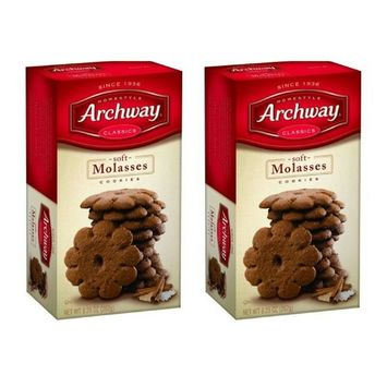 Archway Classics Soft Mosasses Cookies 9.5 OZ (2 Packs)