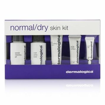 Normal/ Dry Skin Kit: Cleanser + Toner + Smoothing Cream + Exfoliant + Eye Reapir-5pcs