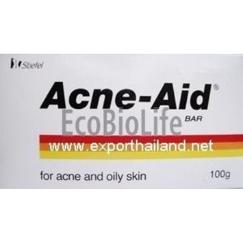 Acne Aid Soap Bar for Acne and Oily Skin 100 grams