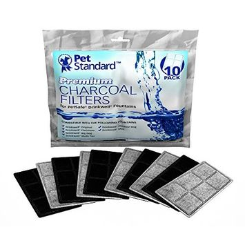 Premium Charcoal Filters for PetSafe Drinkwell Fountains