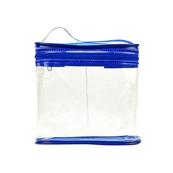 Waterproof Tote Carry Clear PVC Toiletry Bag Kits