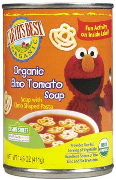 Earths Best Earth's Best Elmo Tomato Soup - 12 pk
