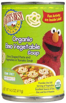 Earths Best Earth's Best Elmo Vegetable Soup - 12 pk