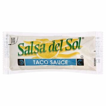 Salsa Del Sol Taco Sauce (0.32oz Packets, Pack of 500)
