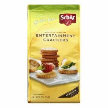 Schar Entertainment Crackers, 6.2 OZ (Pack of 6)