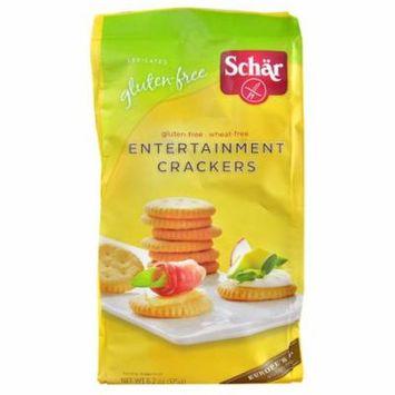 Schar Entertainment Crackers Gluten Free -- 6.2 oz pack of 6