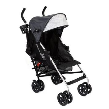 Wonder Buggy 3L All Town Rider Light Weight Stroller - Black