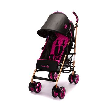 WonderBuggy 4 Position Aluminum Frame Stroller With Large Basket and Extended Canopy