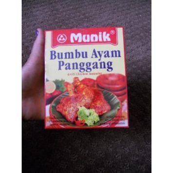 Munik - Bumbu Ayam Panggang / Grilled Chicken Seasoning - 6 x 150 g / 5.3 oz - Product of Indonesia