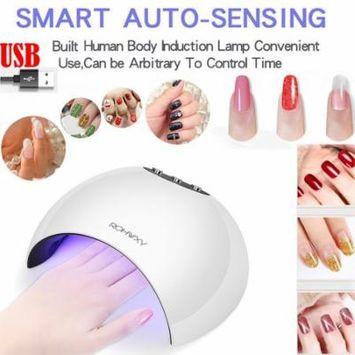 Iuhan 24W LED UV Nail Gel Curing Lamp Light Nail Gel Polish Dryer Nail Art Machine