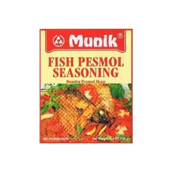 Bumbu Pesmol Ikan (Fish Pesmol Seasoning) - 3.5oz (Pack of 3)