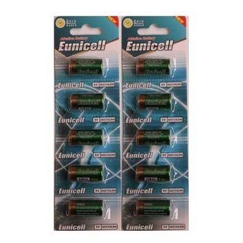 Eunicell 10 x 4LR44 4G13 L1325 A544 476A 6v Alkaline Batteries