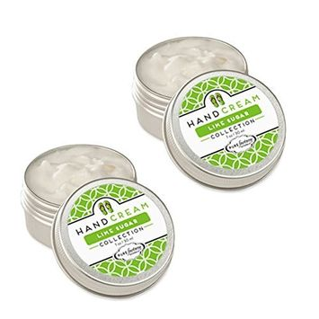 PUREfactory Naturals Hand Cream 2 Piece Set - Lime Sugar, 1 oz.