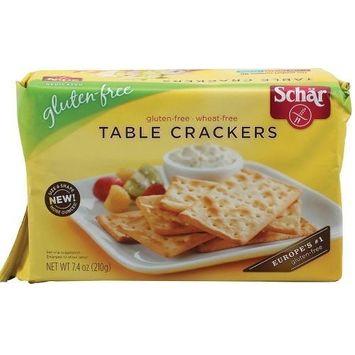 Schar Table Crackers (6x7.4 OZ)