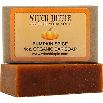 Pumpkin Spice 4oz Orgainic Bar Soap by Witch Hippie