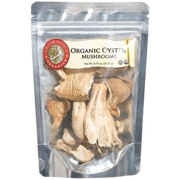 Aromatica Organics Oyster Mushrooms, 0.75-Ounce Bags (Pack of 6)