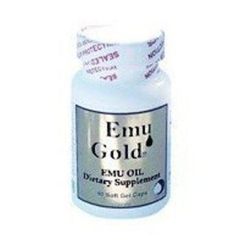 EMU GOLD Emu Oil Certified Pure Grade A Extra Strength 750mg 90 SOFTG