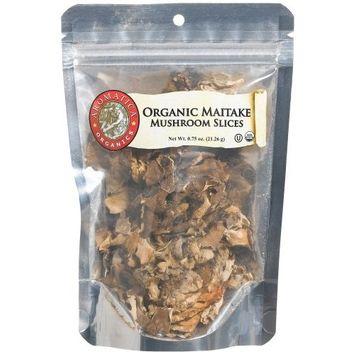 Aromatica Organics Maitake Mushrooms Slicedf, 0.75-Ounce Bags (Pack of 6)