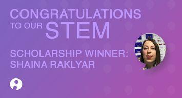 Influenster Women in STEM Winner: Shaina Raklyar