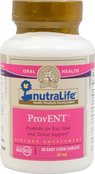 NutraLife ProvENT-30 Chewables
