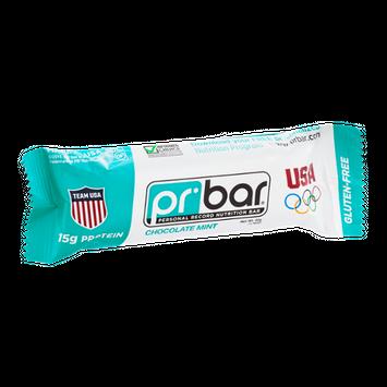 PR Personal Record Nutritional Bar Chocolate Mint - Gluten Free