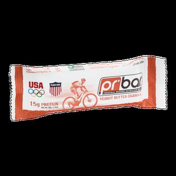 PR Personal Record Nutritional Bar Peanut Granola
