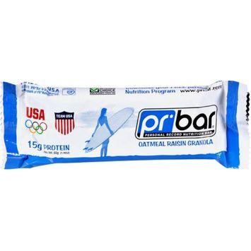 PR Bar Oatmeal Raison Granola Bar, 1.76 OZ (Pack of 12)