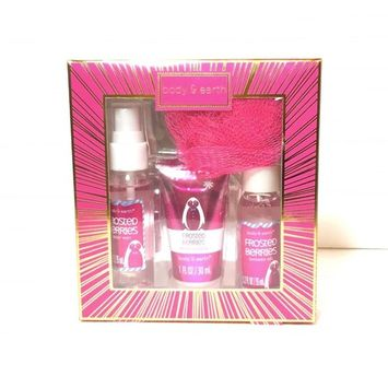 Body And Earth Frosted Berries Womens Gift Set