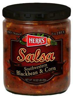 Herr's® Southwestern Blackbean & Corn Salsa