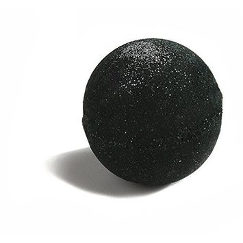 Bath Bomb 8 +oz Little Black Dress w/Shimmer and Kaolin & Coconut Oil