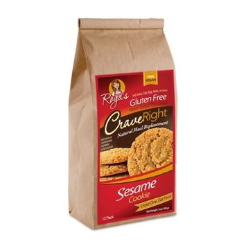 Gluten-free, 100% Vegan - 7 Oz, Containing 12 Individual Cookies (Sesame Crunch Cookie) (Pack of 3)