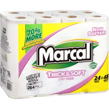 Marcal® Bath Tissue Double Rolls 24 ct Pack
