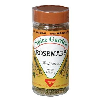 Spice Garden Rosemary, Whole, 1.0-Ounce Jar (Pack of 8)