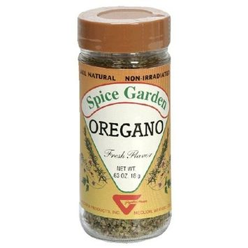 Spice Garden Oregano, .63-Ounce Jar (Pack of 8)