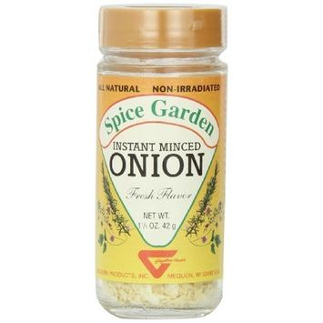 Spice Garden Onions, Minced, 1.5-Ounce Jar (Pack of 6)