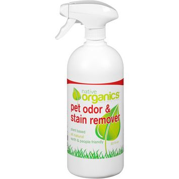 Native Organics Pet Odor & Stain Remover, 32 fl oz