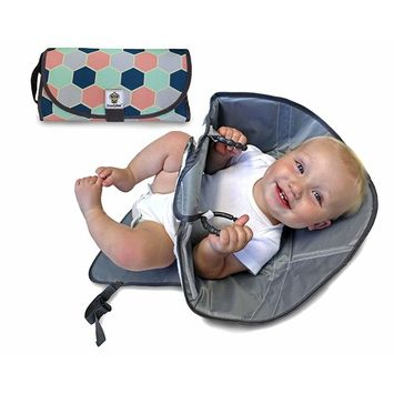 Snoofybee Portable Diaper Changing Pad, Travel Product Baby Shower Gift