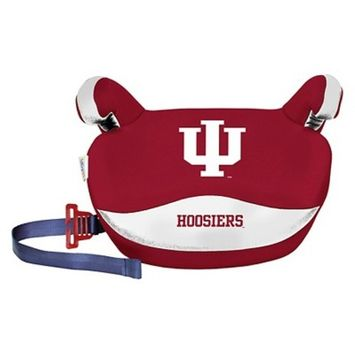 NCAA Indiana Hoosiers LilFan No Back Belt Positioning Booster