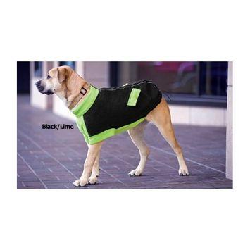 Attitash Dog Coat Large Color: Navy/Rust