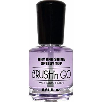 duri Brush'n GO Dry and Shine Speedy Top Coat .61 fl. oz. by Duri Cosmetics