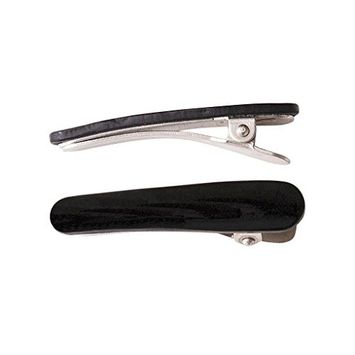 Ficcare Ficcaritos Hair Clip Pair in Black and Silver
